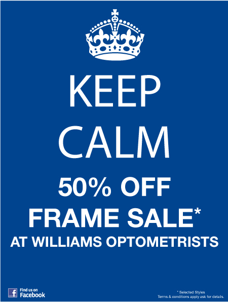 Williams Opticians Special Offer